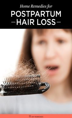 Home Remedies to Deal with Postpartum Hair Loss:  Here are some best ways that help you a lot in dealing with postpartum hair loss. #PostpartumHairLoss #HairLoss #DIYRemedies #HairLossRemedies