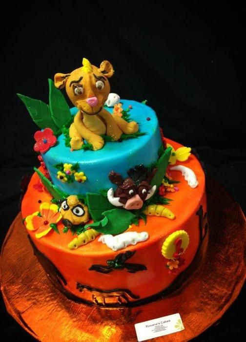 100 Best Images About Disney S Lion King Cakes On