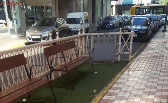 Los vecinos del 1004 de Movistar en Las Palmas critican que los telefonistas fumen en la calle