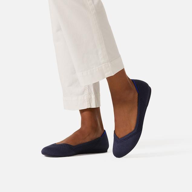 Tieks ballet flats, Coral heels