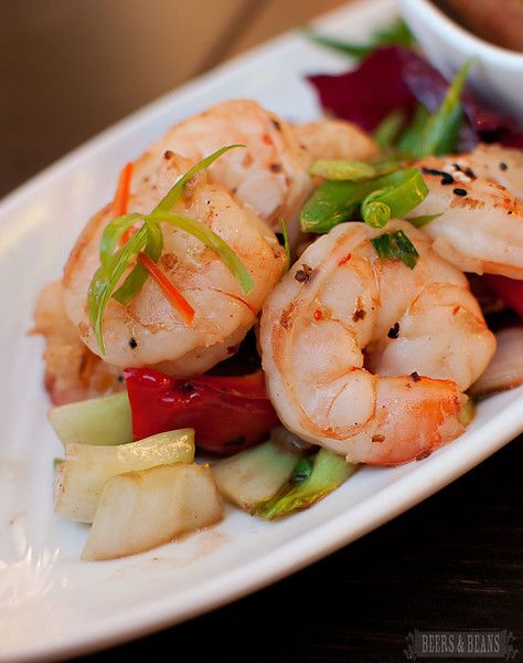 Stir Fried Peppered Shrimp, Yum!
