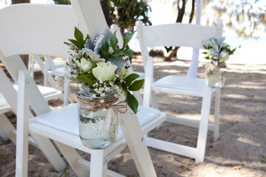 Sally and Andrew's Vintage Style Noosa Wedding On The Beach.