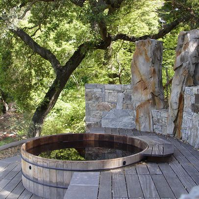 17 best images about koi other ponds pools on pinterest kid pools and galvanized stock tank - Garten jacuzzi ...