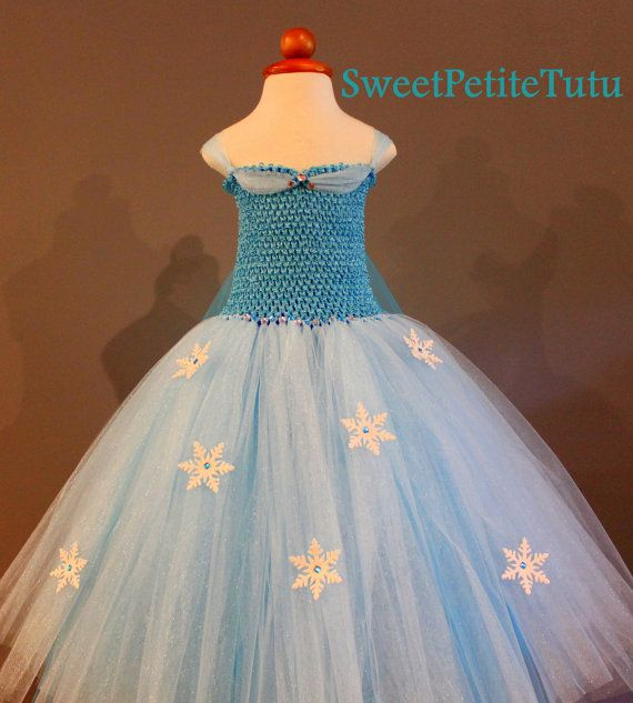 Elsa tutu dress Frozen tutu dress Disney's by SweetPetiteTutu