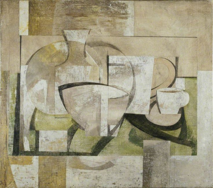 Ben Nicholson - still life in windows