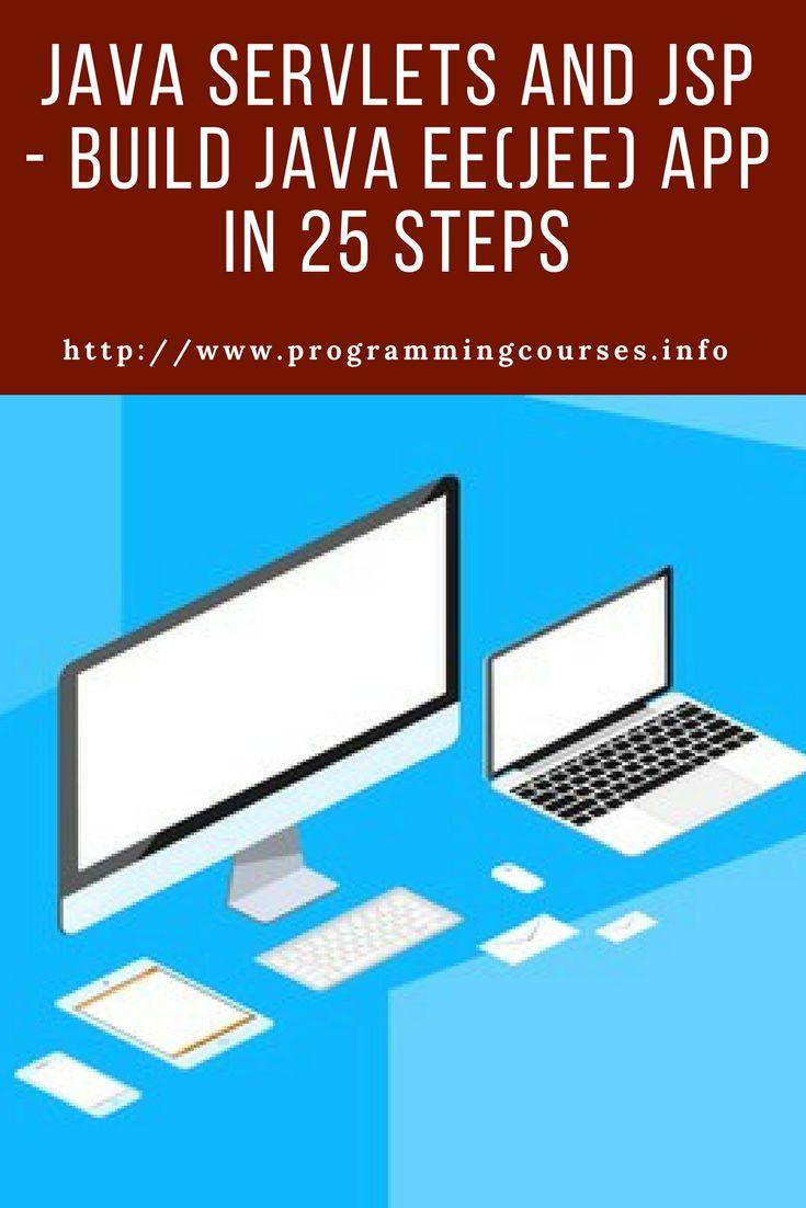 Java Servlets and JSP - Build Java EE(JEE) app in 25 Steps #java