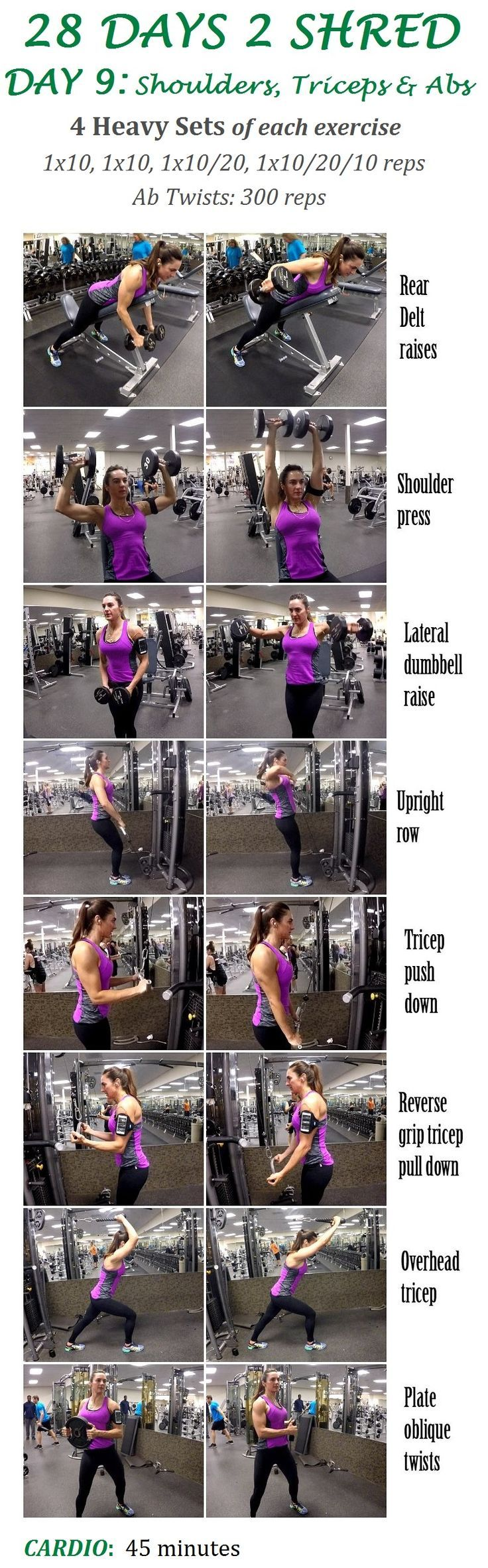 Shoulders, Triceps, and Abs Workout | Posted by: NewHowtoLoseBellyFat.com
