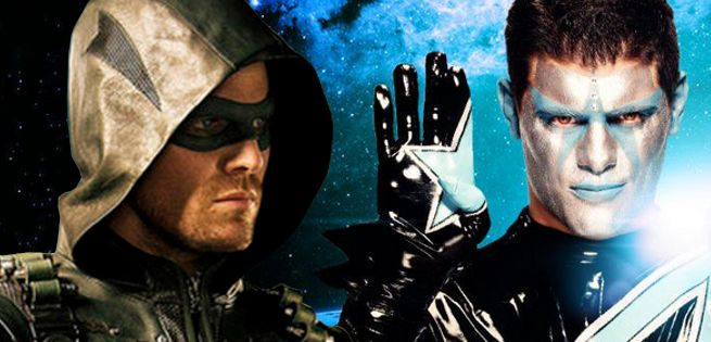 Arrow's Amell and WWE's Stardust Finally Face Off on RAW