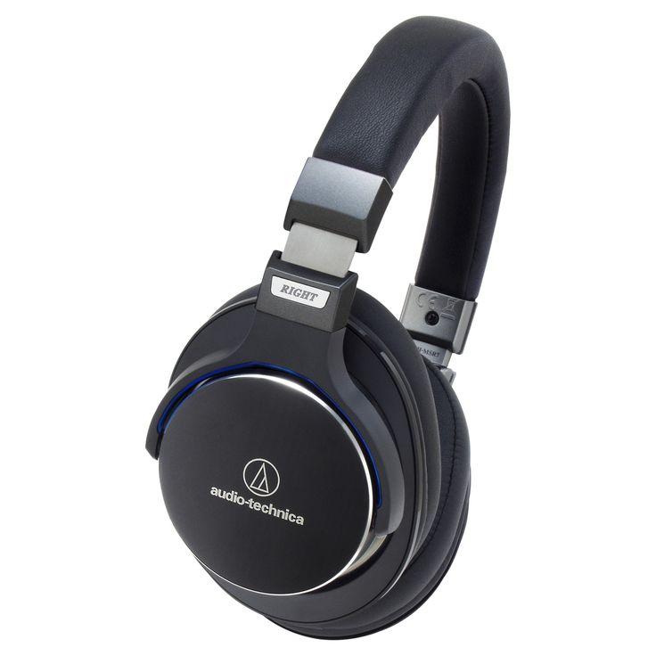 Audio Technica SonicPro Over-the-Ear High-Resolution Audio Headphones - Black