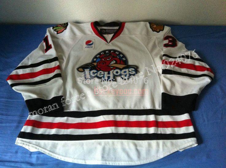 2009-10 дэвид филлипс джерси #13 Rockford IceHogs кофта хоккей кофта белфаст нью-йоркские гиганты белый - индивидуальные IceHogs кофта