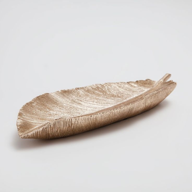 Διακοσμητική φιγούρα χρυσαφί φύλλο - Αξεσουάρ Διακόσμησης - Σαλονι | Zara Home Ελλάδα / Greece