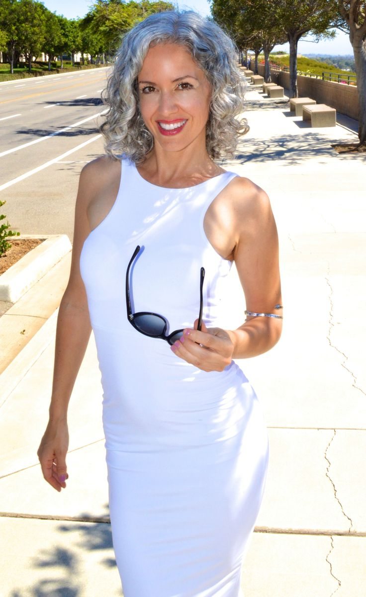 Sara Davis Eisenman Gray Hair Grey Hair Silver Hair