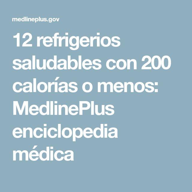 12 refrigerios saludables con 200 calorías o menos: MedlinePlus enciclopedia médica