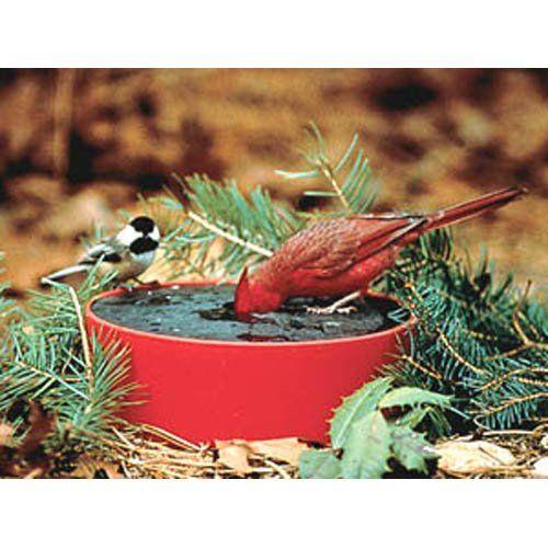 Have to have it. Happy Bird Solar Sipper Heated Bird Bath - $27.06 @hayneedle
