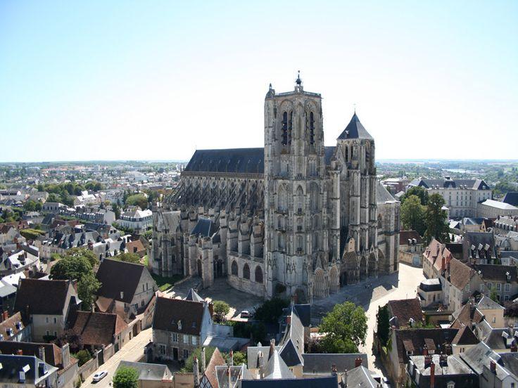 """""""Tour de Beurre"""", Cathédrale Saint-Etienne de Bourges, France - 1542"""