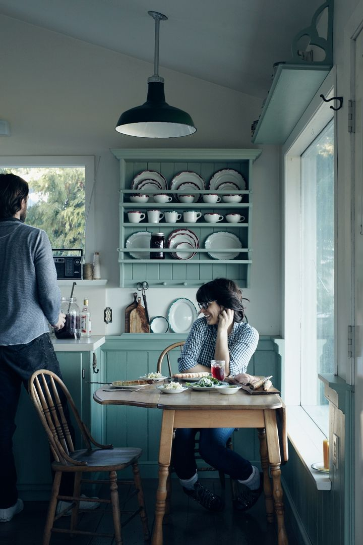 one of the loveliest kitchens I have ever seen