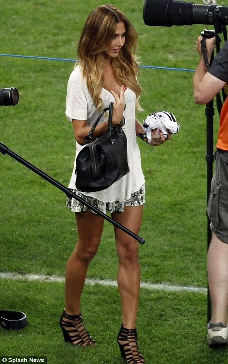 Ann-Kathrin Brommel is a model and singer and couldn't be prouder of her man Mario Gotze whose goal ensured Germany's victory