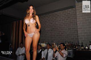 Andrea Pulgar Soares en sexy desfile de lencería de Kinkyssimo - Lima Modelos y Anfitrionas