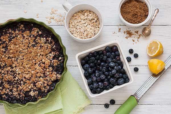 Gluten Free Blueberry Crisp   Recipes   Simply Gluten Free