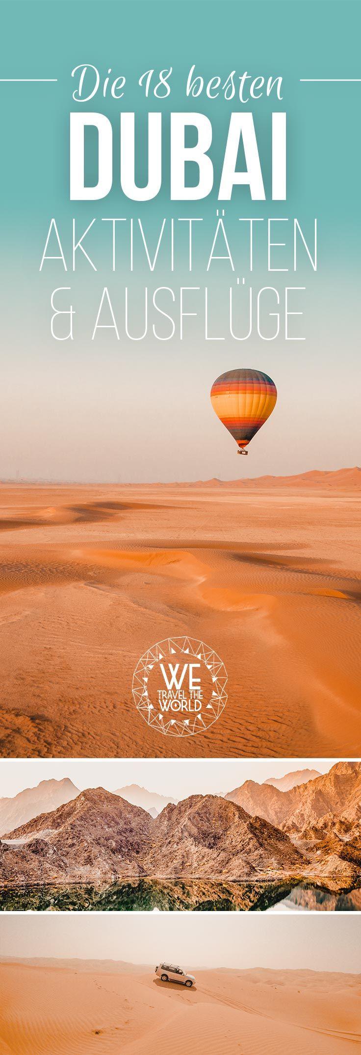 Dubai Urlaub: Wir haben dir die besten Dubai Aktivitäten und Ausflüge für deine Dubai Reise zusammen gestellt. Viel Spaß beim Lesen!