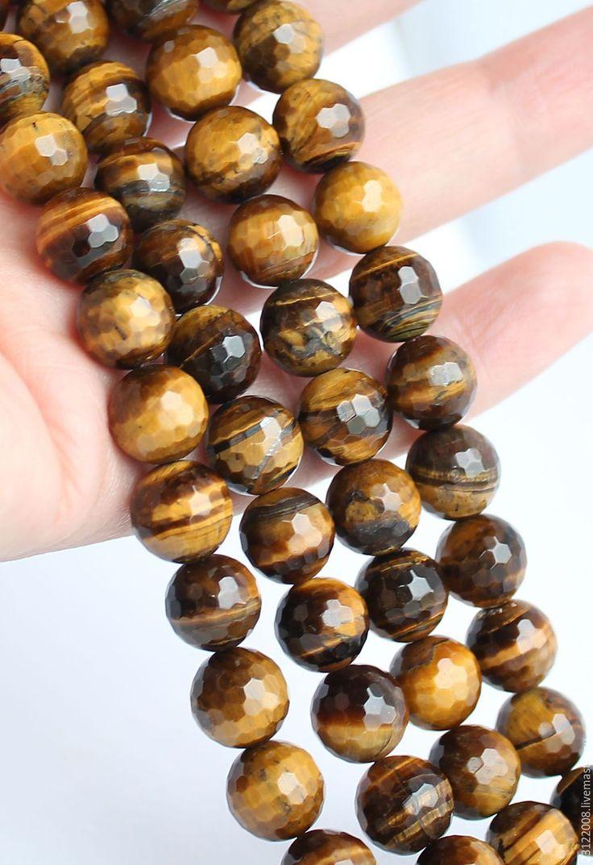 Купить ТИГРОВЫЙ  ГЛАЗ, ОГРАНКА-СИБИРЬ-125 - коричневый, тигровый глаз, камни, камни для украшений