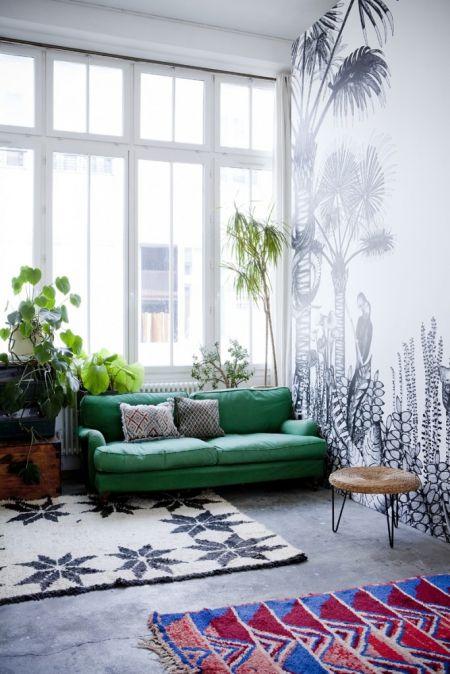 Papier peint tropical / Tropical Wall