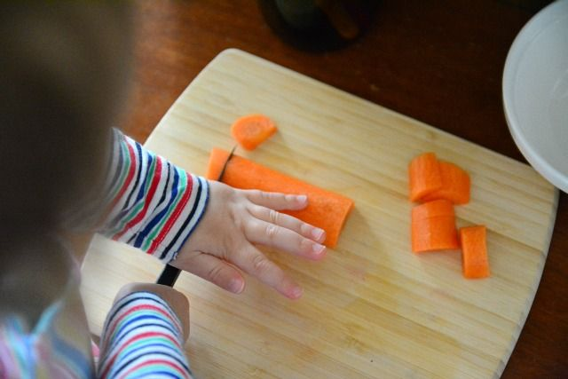 Montessori and Knives from How We Montessori