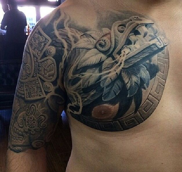 Chest n arm piece