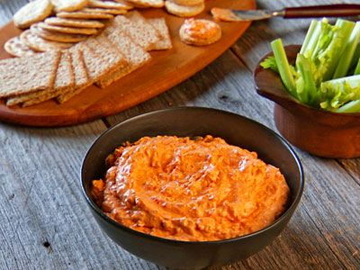 Pimento Cheese and Crackers Recipe | Cooking | How To | Martha Stewart ...
