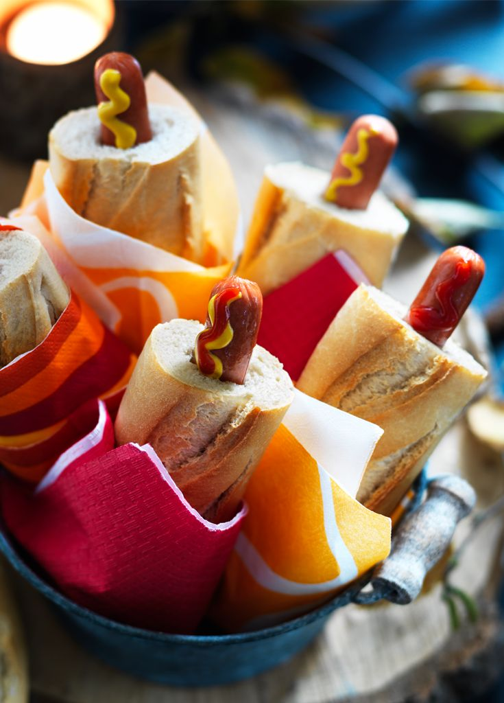 Bonfire Bangers - The no-mess hot dog that'll be a whizz-bang hit on firework night.