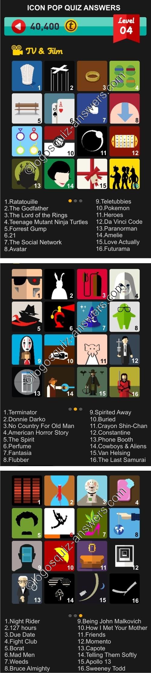Poster design for quiz - Level 4 Tv And Film Quiz