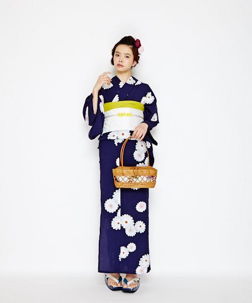 Yukata - looks like kikuage!