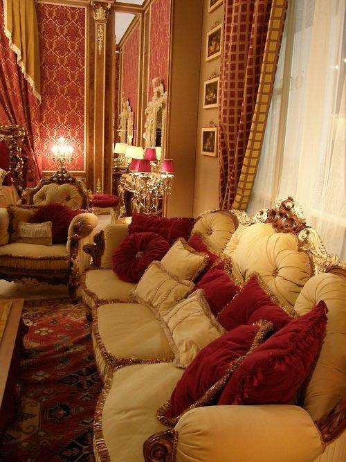 Victorian Salon Victorian Bedroom Decor Victorian Tufted Victorian