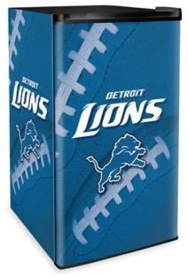NFL Detroit Lions Countertop Height Refrigerator