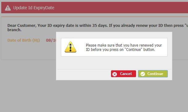 Procedure To Update Iqama Expiry Date In Albilad Bank Al Rajhi Bank Dating Update Bank