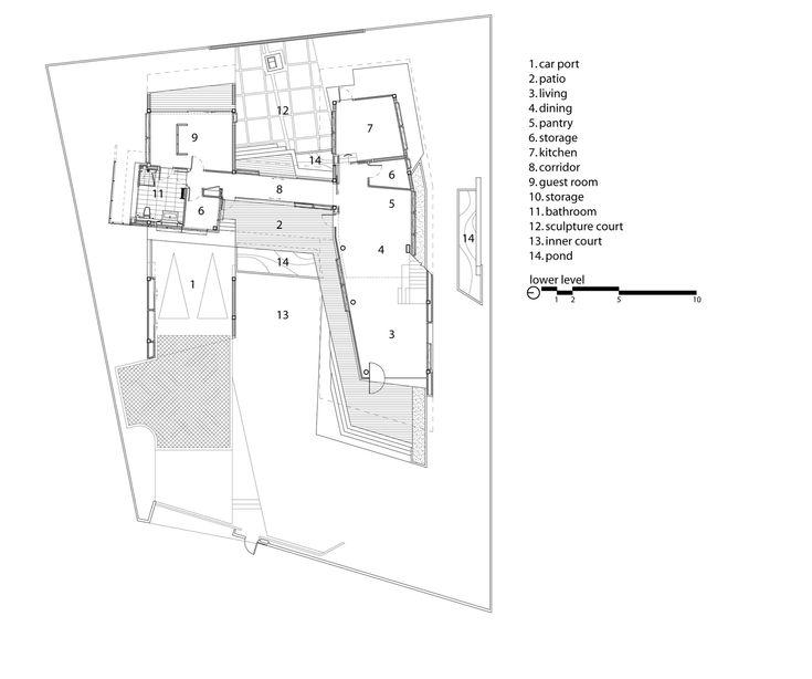 Бункер, Дом,План