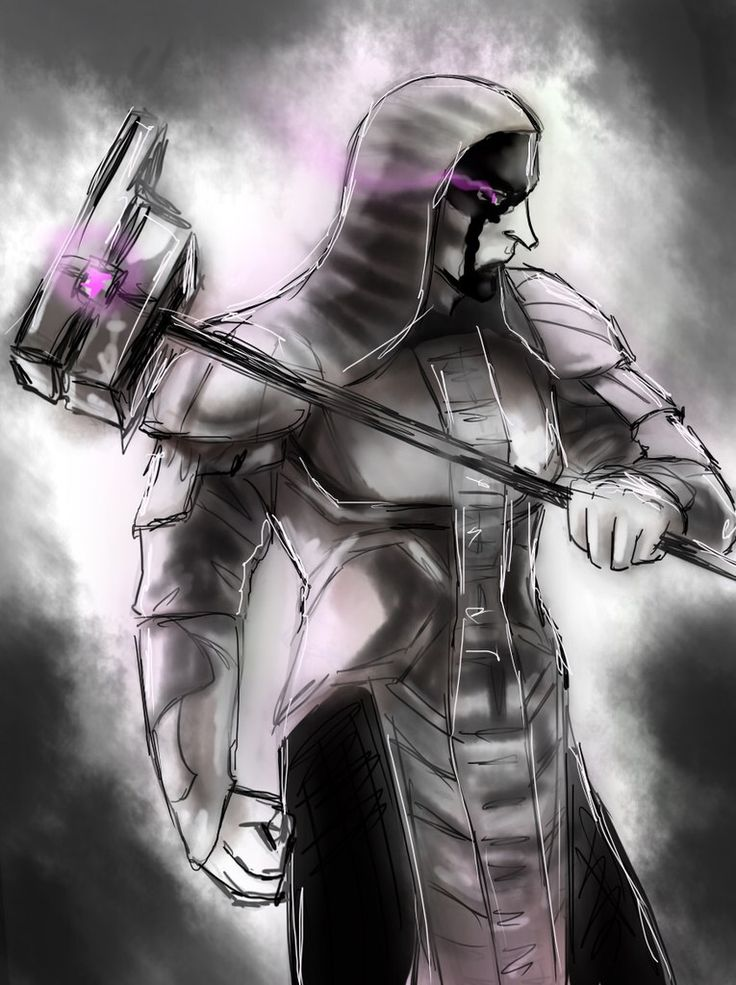 Ronan the Accuser - sketch by Himitsu4Schuu on DeviantArt