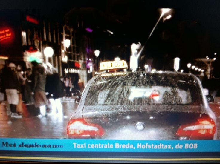 Taxicentrale Breda meegewerkt aan 'Lauren en Tim zijn de Bob', van Veronica.