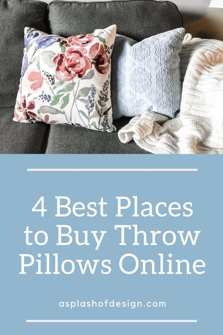 4 Easy Places To Find Quality Stylish And Affordable Throw Pillows Online Pillows Onlineshopping Thr Throw Pillows Online Throw Pillows Buy Throw Pillows
