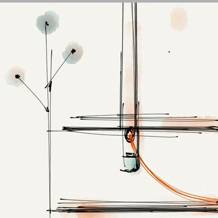 Nuovo nato dal concorso d'idee NATEVO by Flou, Lucciola è un arredo luminoso e multifunzionale progettato da DORODESIGN, che interpreta con leggerezza cemento, ferro e luce