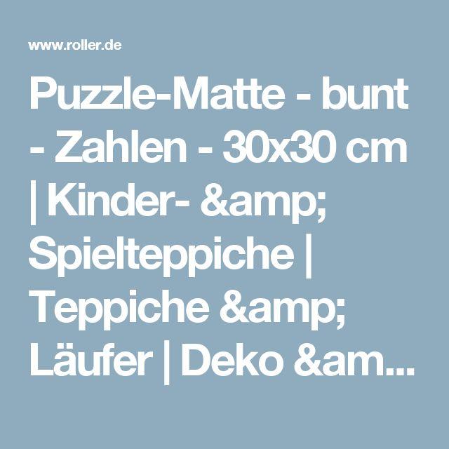 Good Puzzle Matte bunt Zahlen x cm Kinder u Spielteppiche