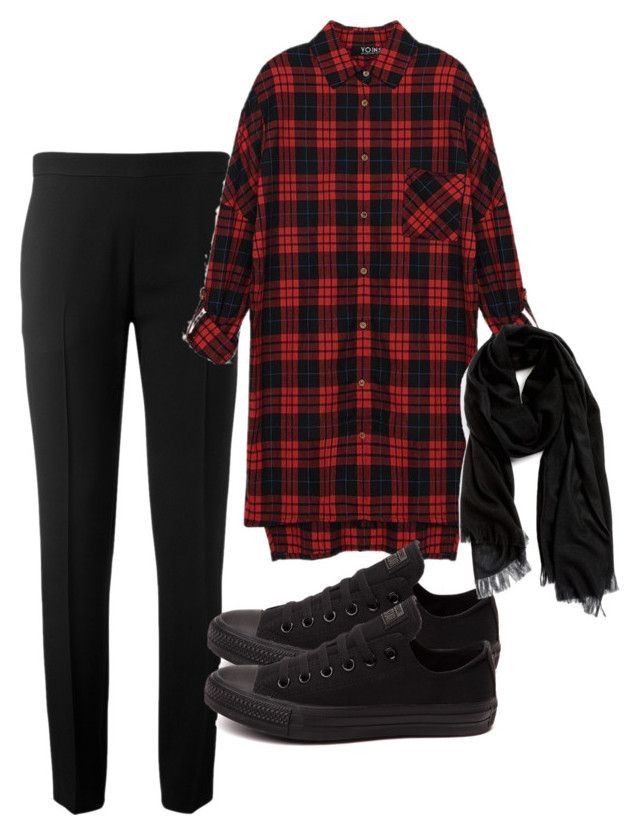 """hijabi outfit :)"" by madihahnas ❤ liked on Polyvore featuring Chloé, Converse and Nordstrom"
