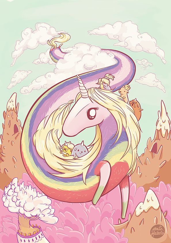 Lady Rainicorn  #adventuretime #art