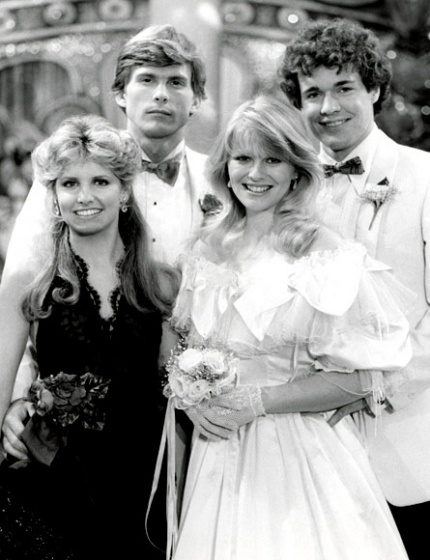 Before Y&R,  I was all about watching this foursome on Guiding Light