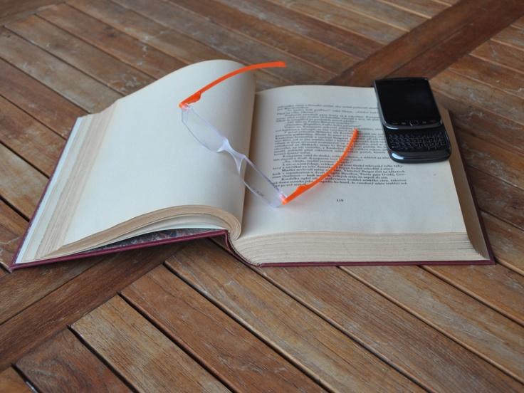 Twist & Read Hi-Tech Folding Readers 5007 - Pumpkin Orange