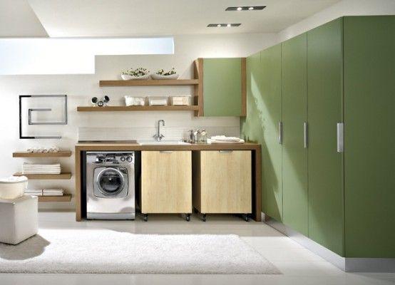 Laundry room zen