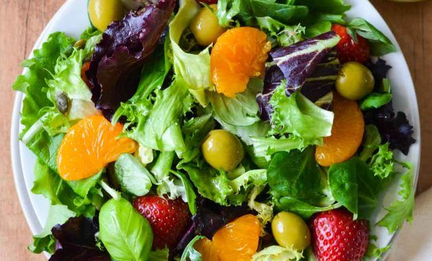 Hearty Healthy Recipes For Vegetarian Salads Resep