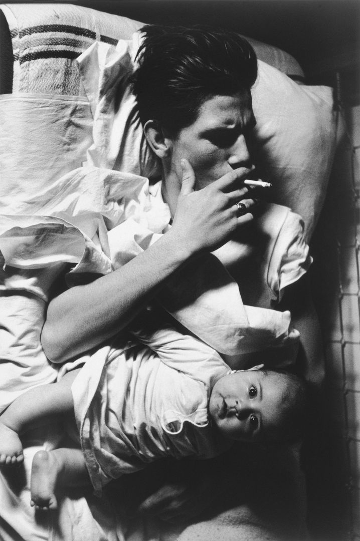Untitled, 1963 © Larry Clark / Courtesy of the artist and Luhring Augustine, New York - More info on the exhibition in Foam: http://foam.org/visit-foam/calendar/2014-exhibitions/larry-clark