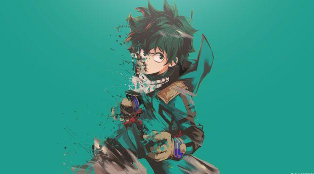 Boku No Hero Academia Midoriya Izuku Art Wallpaper Hd Anime 4k Wallpaper Wallpapers Den Hero Wallpaper Anime Wallpaper Hd Cute Wallpapers