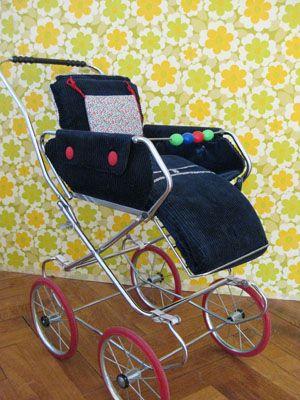 70er jahre sport puppenwagen, der sieht genau so aus wie der Sportwagen fur meine Kinder